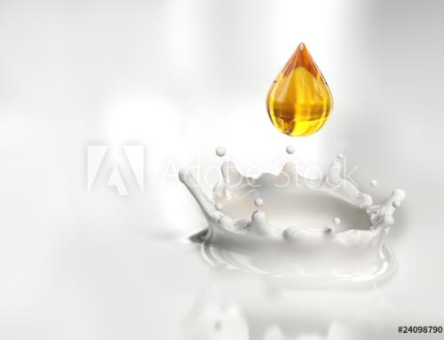 Una Goccia di Miele dorato nel Latte